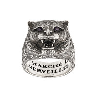 Gucci Garden Feline Head Ring - Farfetch