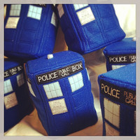 Doctor Who - Tardis Plush - Made to Order