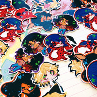 stickers: miraculous tales of ladybug & cat noir