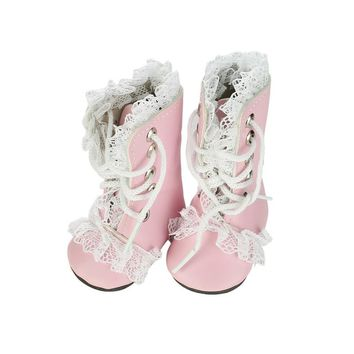 Free shippin 18 inch New  Pink Princess boots  doll accessories American girl Casual fashion   baby Birthday gift
