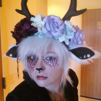Full Large Faun Headdress