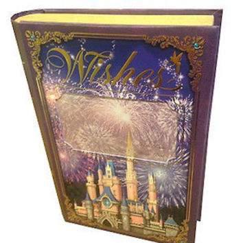 disney parks cinderella castle wishes photo and storage book new