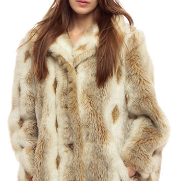 68fad50f5a0 Shop Animal Fur Coat on Wanelo