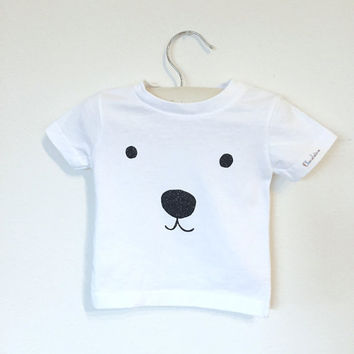 Polar Bear infant t-shirt, Panda shirt, baby boy tshirt, baby boy top, baby boy clothes, baby boy tees, baby boy graphic tshirt