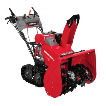 PowerSmart 24 in. Two Stage Electric Start Gas Snow Blower with Power Assist-DB72024PA - The Home Depot