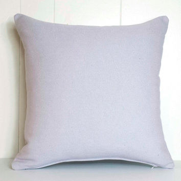 16x16 and 18x18 Lavender Purple Belgian Linen Throw Pillow Cover