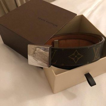 ONETOW Genuine Unisex Louis Vuitton Belt - 36¡±
