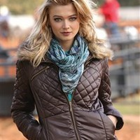 Brown Polyfill Jacket