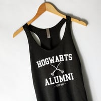 Harry Potter Hogwarts Alumni Tank Top in Black
