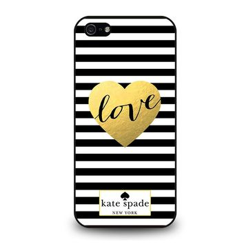 KATE SPADE LOVE iPhone 5 / 5S / SE Case Cover