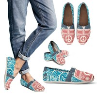 Retro Hippie Casual Shoes