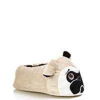 Stone Pug Face Slippers