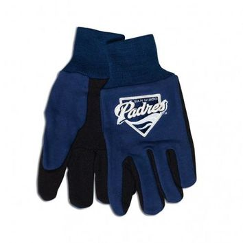 San Diego Padres - Adult Two-Tone Sport Utility Gloves