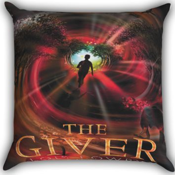 the giver book Zippered Pillows  Covers 16x16, 18x18, 20x20 Inches