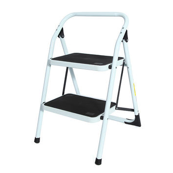 Portable Family-use Ladder Household Ladder 2 Steps Folding Stool Ladders Stair Platform