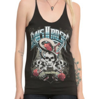 Guns N' Roses Snake Skull Girls Tank Top