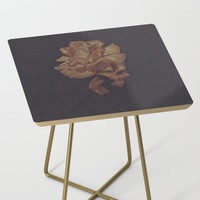 Skull Bloom Side Table by drawingsbylam