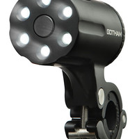 Gotham Defender Anti-Theft LED Bicycle Light - Black