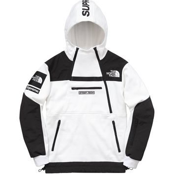 cc auguau Supreme x The North Face Fleece Tech Hoodie