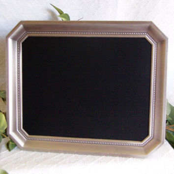 Silver framed chalkboard, Decorative framed chalk board, Wedding decor, chalkboard frame, Slate, Black board. Menu board. Framed chalkboard