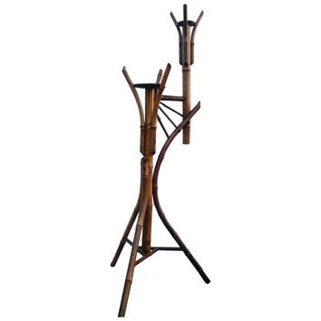 Pre-owned Antique Bamboo Plant Stand Aesthetic Movement