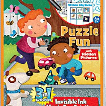 Highlights Puzzle Fun 3 in 1 Activity Book
