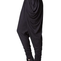 Michi Harem Pants - Black