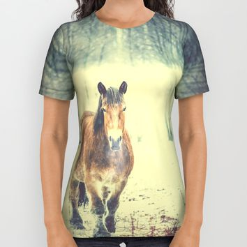 Wandering beauty All Over Print Shirt by HappyMelvin | Society6