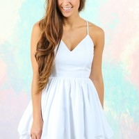 Beneath Twilight Dress-White