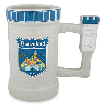 Disney Parks Disneyland Castle Tower Mug New