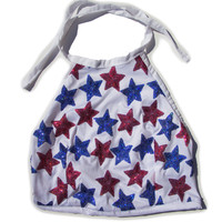 Patriotic Princess Halter Top