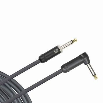 Planet Waves American Stage Instrument Cable, Right Angle, 15 feet