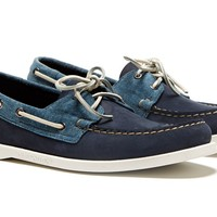 Spinnaker - Navy & Canvas