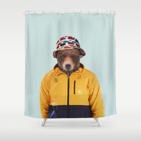 Polaroid n°14 Shower Curtain by Francesca Miele (Natt)