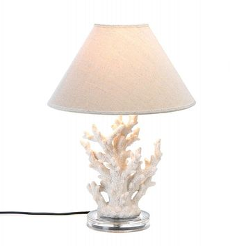 Undersea White Coral Table Lamp