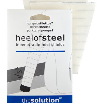 Heel of Steel: impenetrable heel shields