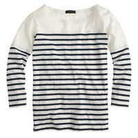 J.Crew Womens Three-Quarter Sleeve Football