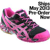 ASICS Womens Gel-1140V Hot Pink Volleyball Shoe - Volleyball.Com