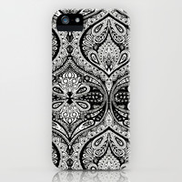 Simple Ogee Black & White iPhone & iPod Case by Aimee St Hill
