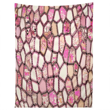 Ingrid Padilla Pink Cells Tapestry