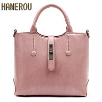 Famous Brand Ladies Hand Bags PU Leather Women Bag Casual Tote Shoulder Bags 2016 Sac New Fashion Luxury Handbags Large Tote Bag