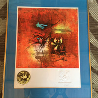 Hoi Lebadang pencil signed and numbered lithograph- hoi artwork