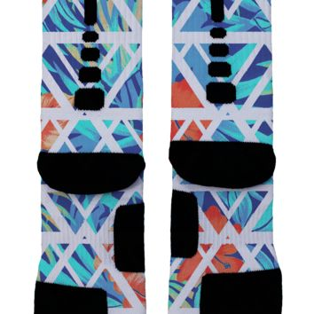 Summer Floral Custom Nike Elites