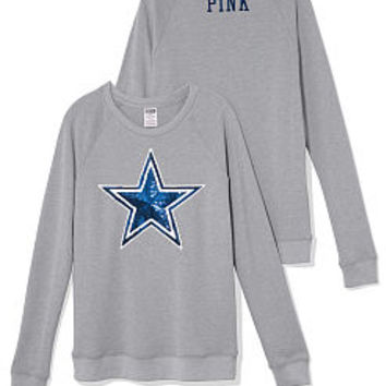 Dallas Cowboys Bling Crew - PINK - Victoria's Secret
