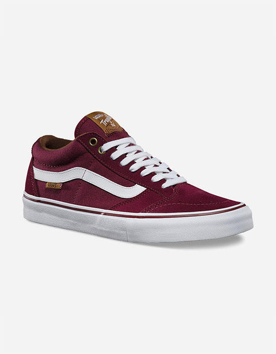 6951dfcb13 Vans Tnt Sg Mens Shoes Port In Sizes from Tilly s