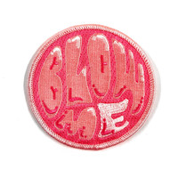 Blow Me Bubble Gum Iron On Patch