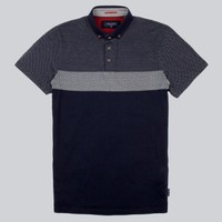 Ted Baker - Mondrin Jacquard Polo Shirt | CLOTHING | nigelclare.com
