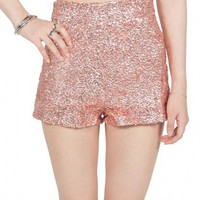 NADINE SEQUIN SHORTS - PINK Insane Jungle