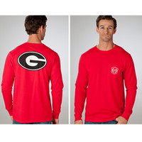University of Georgia Long Sleeve Pocket T-Shirt | University Of Georgia