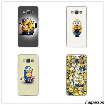Cute Despicable Me For fundas Samsung S8 S8plus case Cute Minions hard cases for coque Galaxy S6 S7 edge cover S4 S5 S6 S7 case